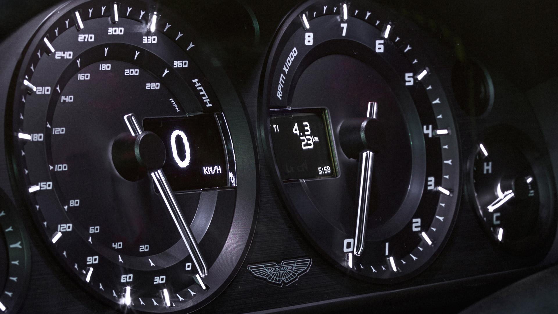 Aston Martin Vantage N430 2013 STD Interior