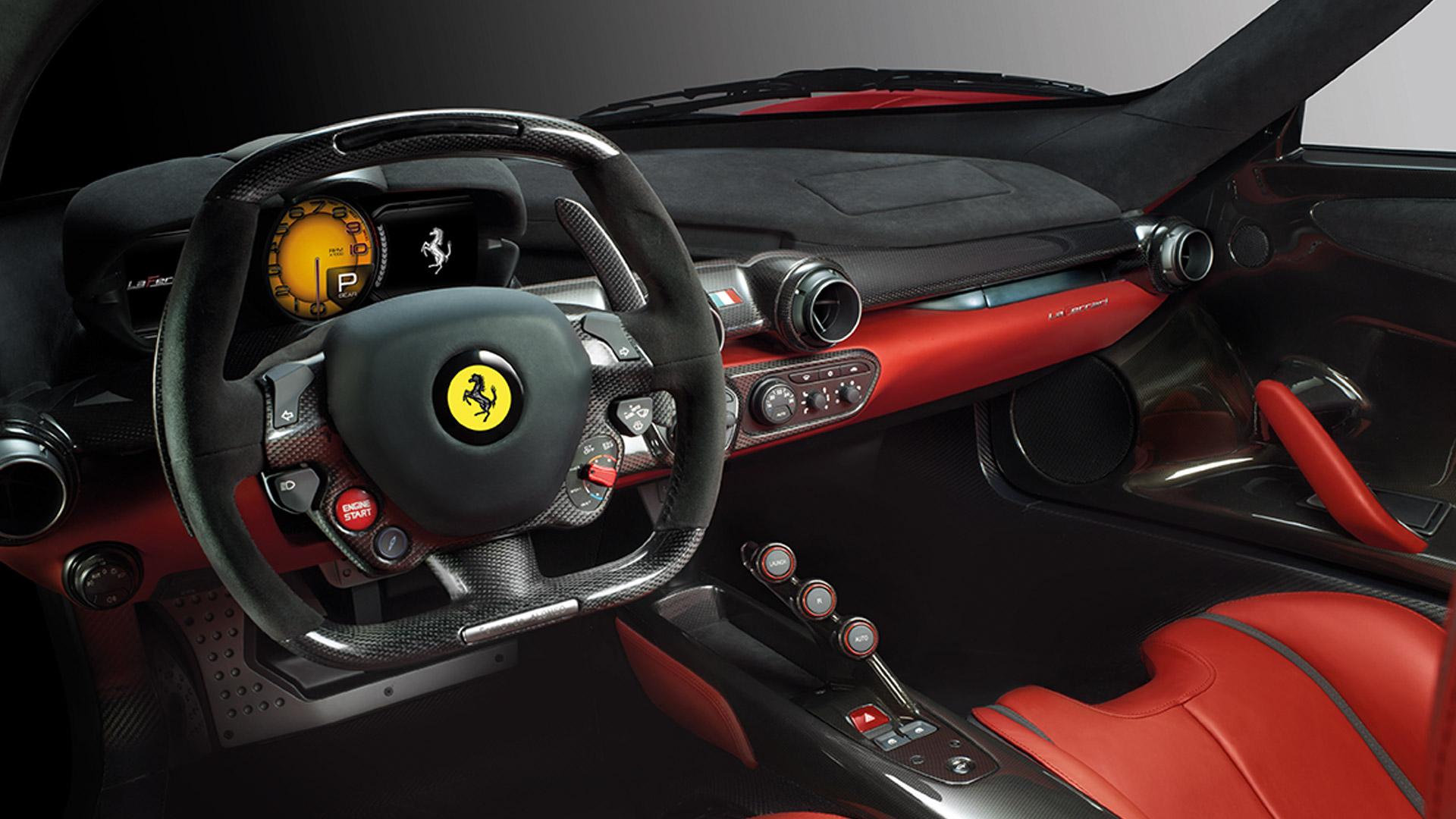 Ferrari LaFerrari 2015 STD Interior