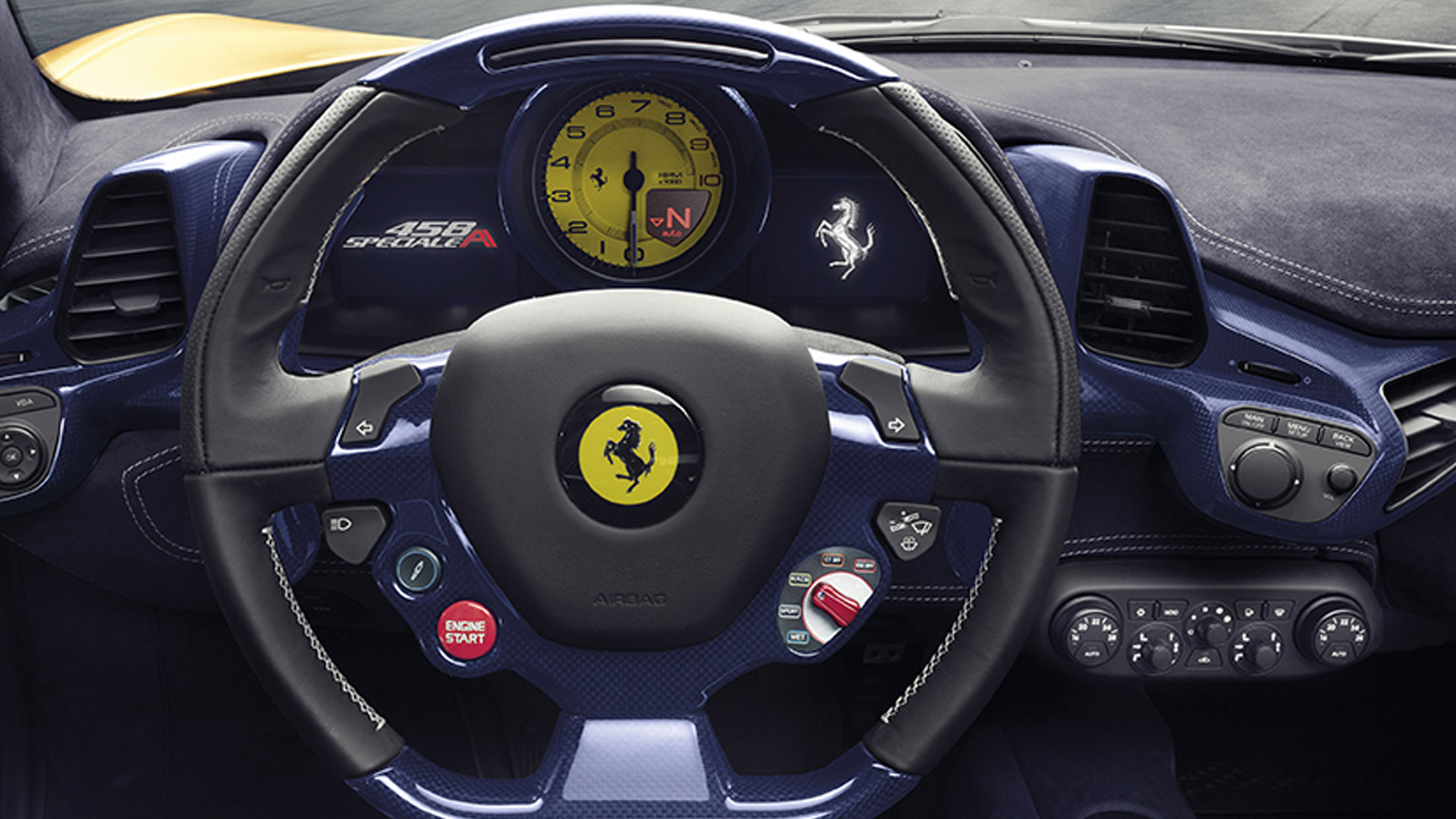 Ferrari 458 2015 Speciale A Interior