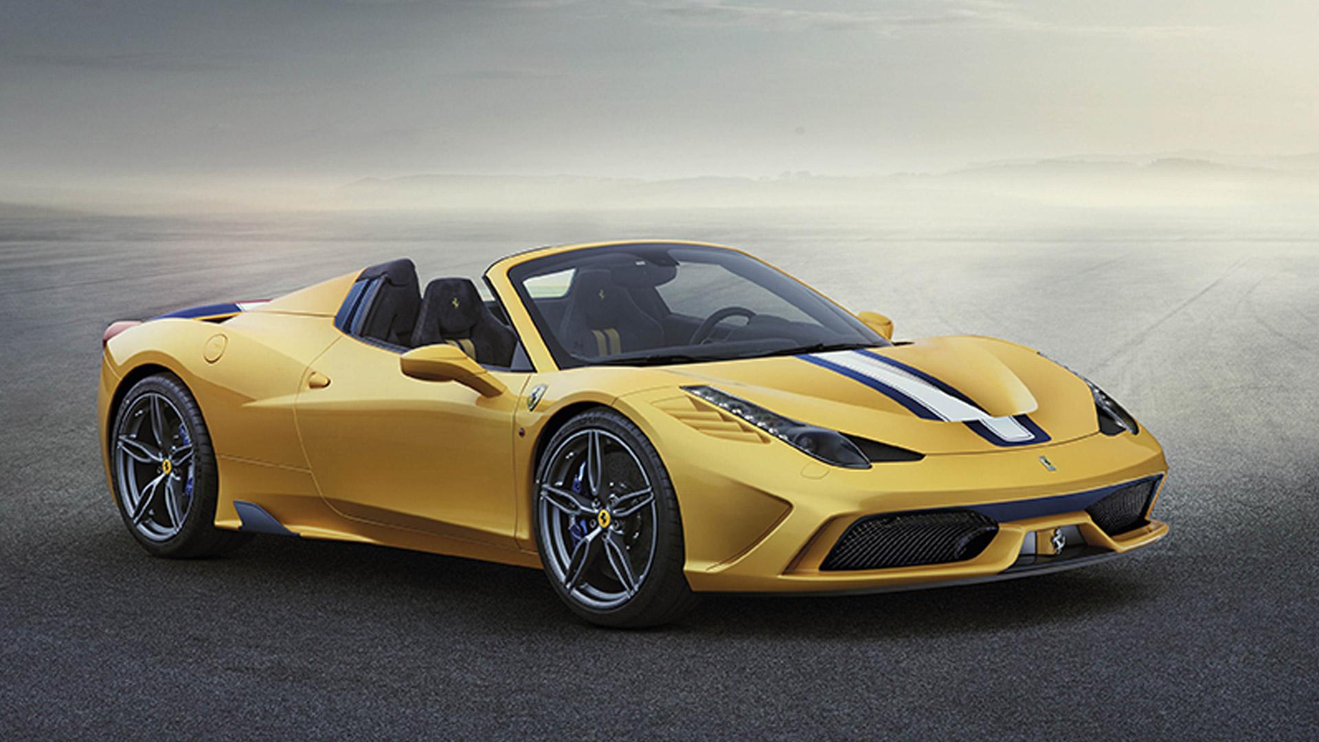 Ferrari 458 2015 Speciale A Compare