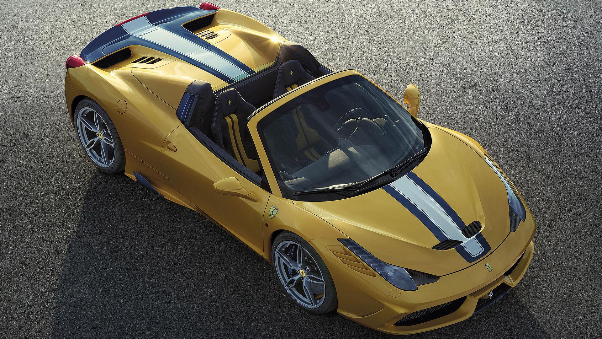 Ferrari 458 2015 Speciale A Exterior