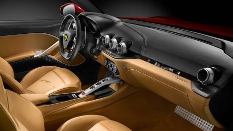 Ferrari F12 Berlinetta 2015 STD Interior