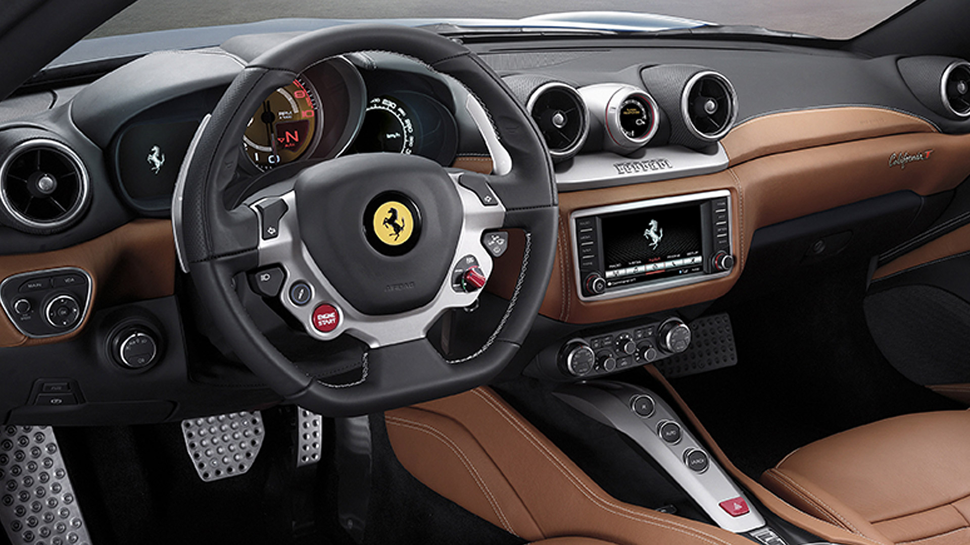 Ferrari California T 2015 STD Compare