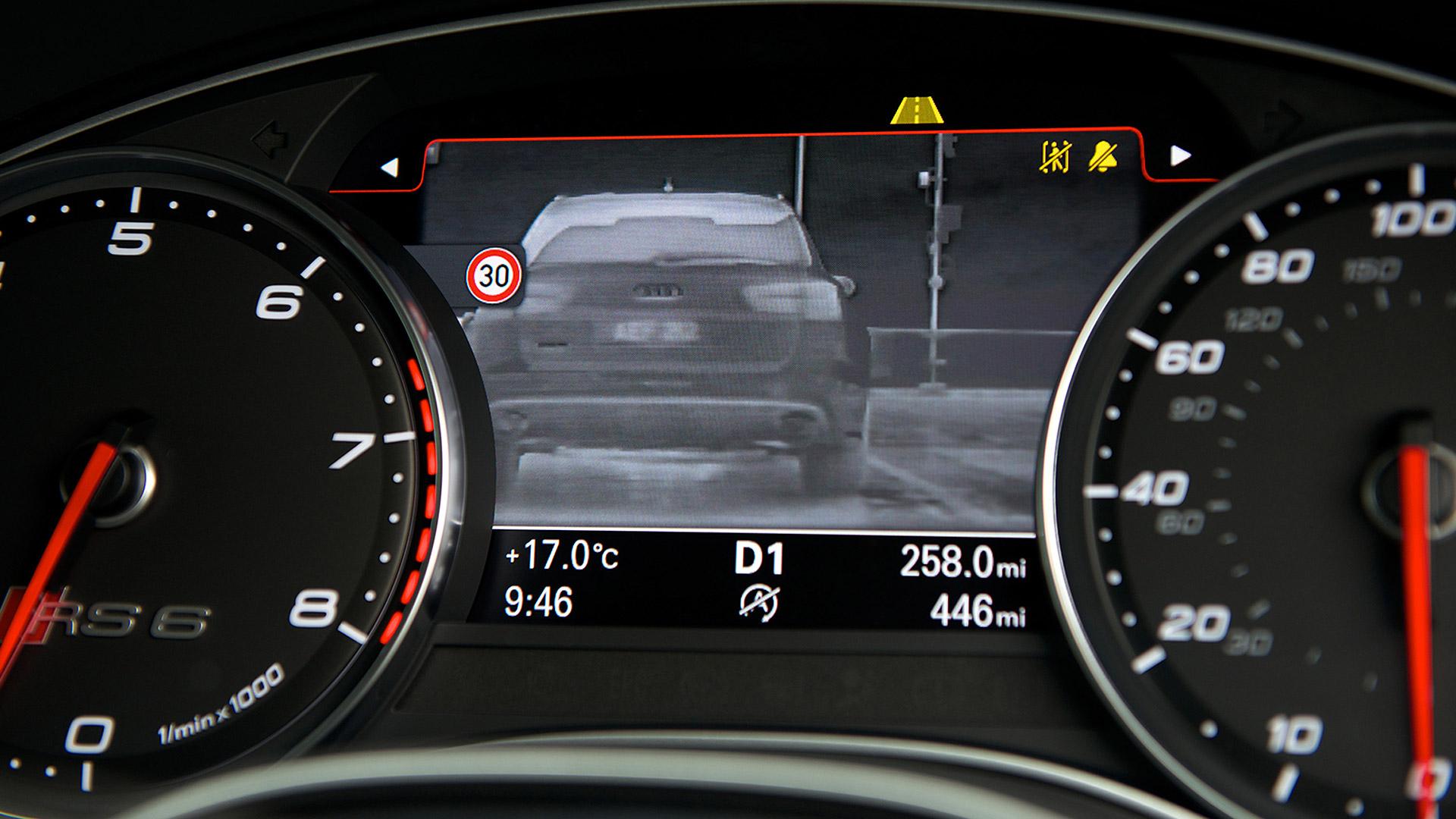 Audi RS 6 Avant 2015 STD Interior