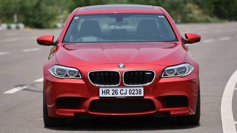 BMW M5 2014 STD Comparo