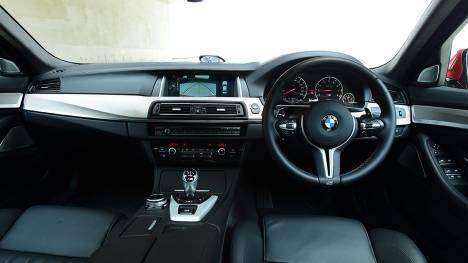 BMW M5 2014 STD Interior