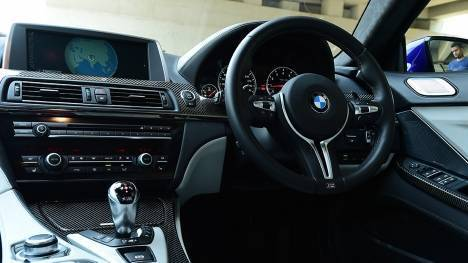 BMW M6 Gran Coupe 2015 STD Interior