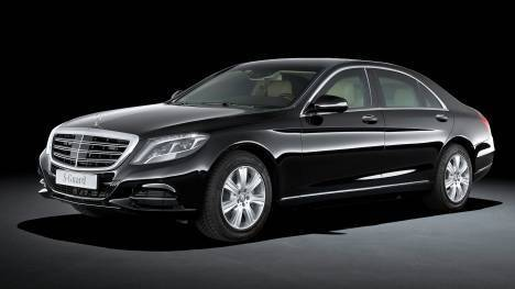 Mercedes-Benz S600 Guard 2015 STD Exterior
