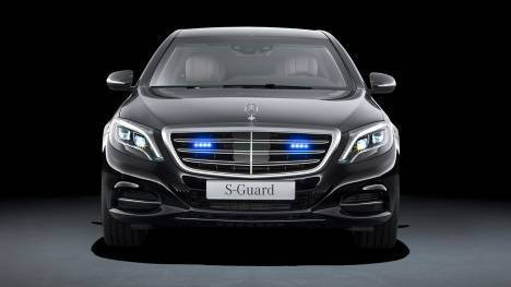 Mercedes-Benz S600 Guard 2015 STD Comparo