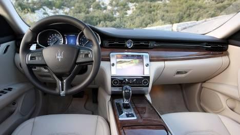 Maserati Quattroporte 2015 GTS Interior