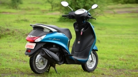 Yamaha Fascino 2015 STD Compare