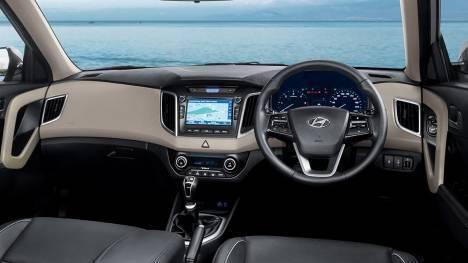 Hyundai Creta 2017 1.4 E Plus diesel Interior