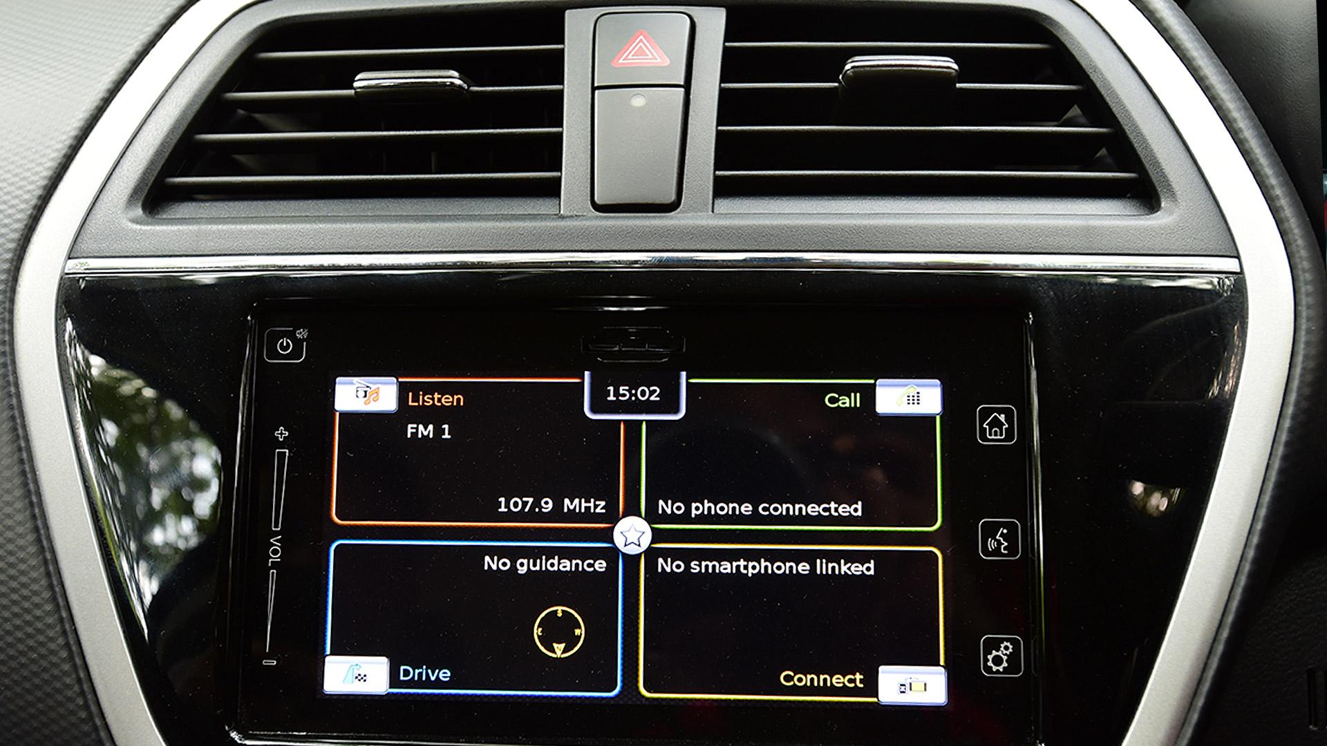Maruti Suzuki Scross 2015 Zeta 320 Interior