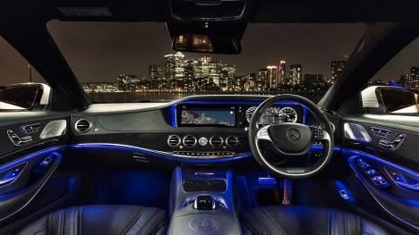 Mercedes-Benz S-Class 2016 S63 AMG Sedan Interior