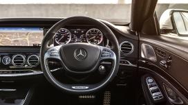 MercedesBenz Sclass 2015 S63 AMG Sedan Interior