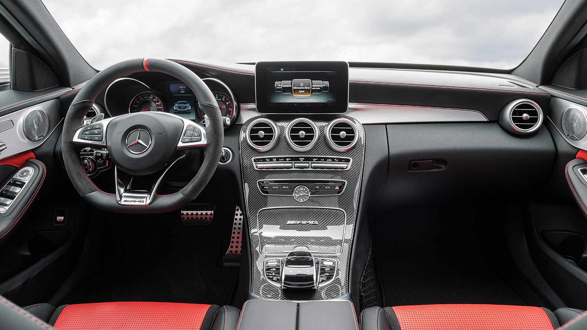 Mercedes Benz C 63 AMG 2015 S Interior