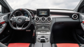 Mercedes Benz C 63 AMG 2015 S Interior