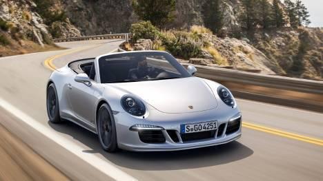 Porsche 911 2015 Turbo S Cabriolet Exterior
