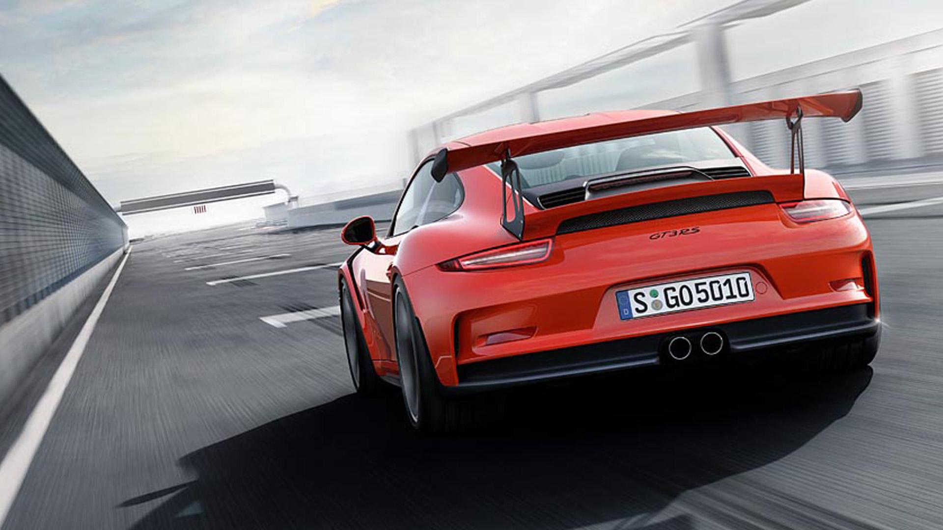 Porsche 911 2015 GT3 RS Exterior