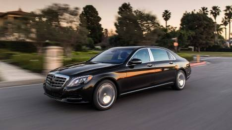 Mercedes-Benz Maybach 2016 S 600	 Exterior