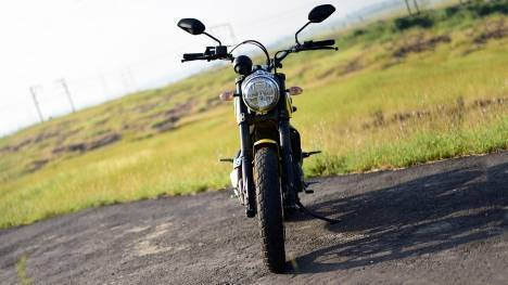 Ducati Scrambler 2017 Desert Sled Comparo