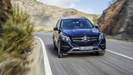 Mercedes-Benz GLE 2016 400 Exterior
