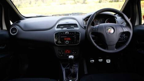 Fiat Abarth Punto 2015 STD Interior