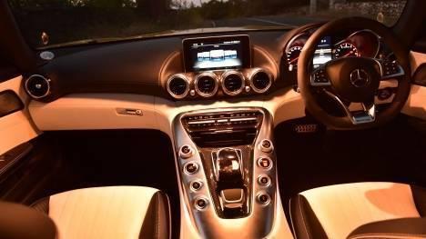 Mercedes-Benz AMG GT 2015 S Interior