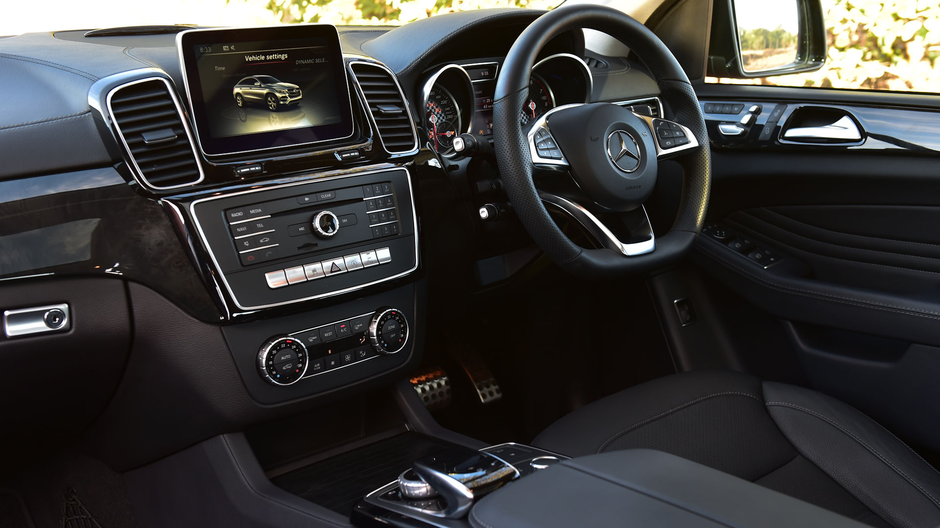 Image result for mercedes-benz gle 250d INDIA INTERIOR