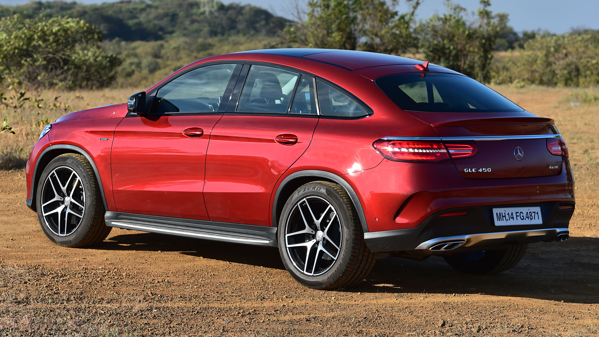 Mercedes Benz GLE 2016 450 AMG Coupe Price Mileage Reviews