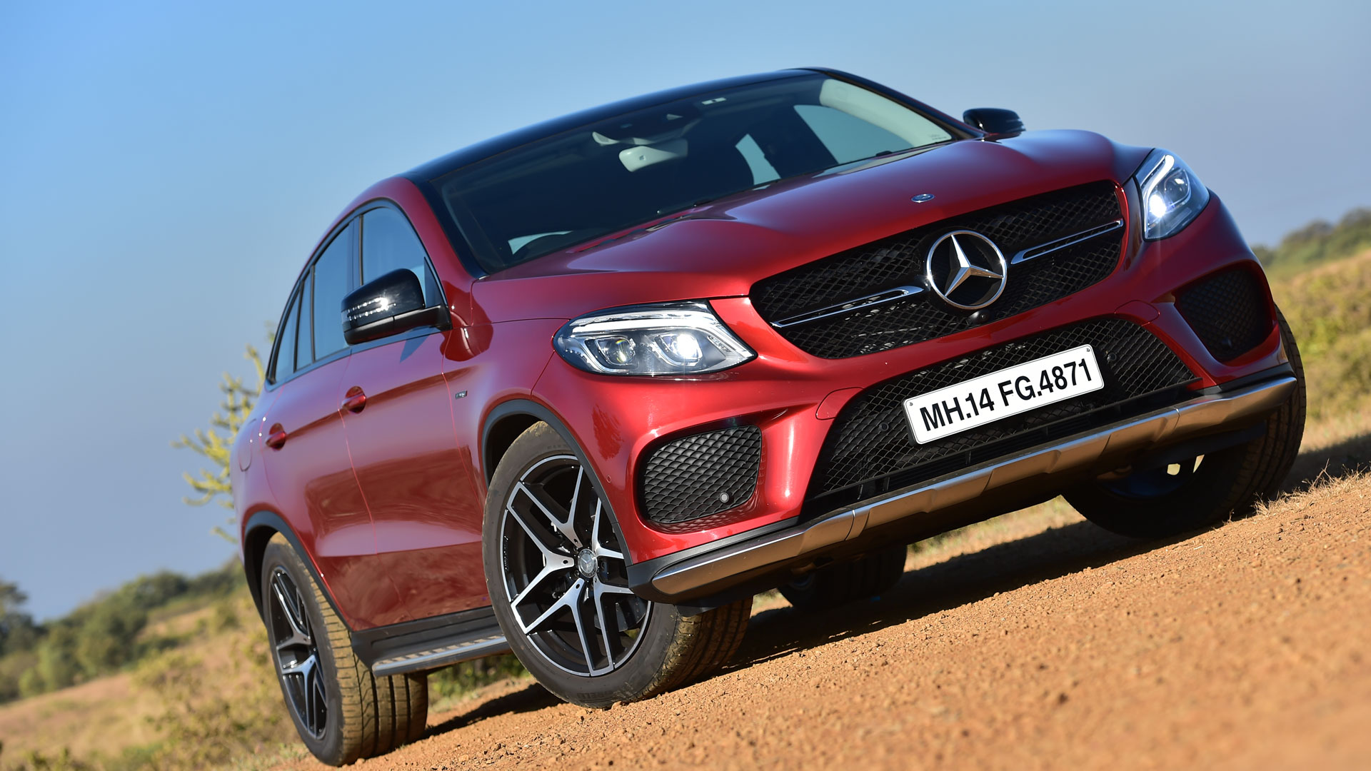 Mercedes Benz GLE 2016 450 AMG Coupe Compare