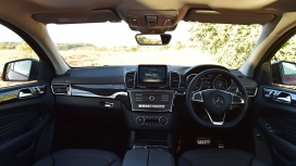 Mercedes Benz GLE 2016 450 AMG Coupe Interior
