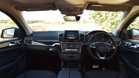 Mercedes-Benz GLE 2016 400 Interior