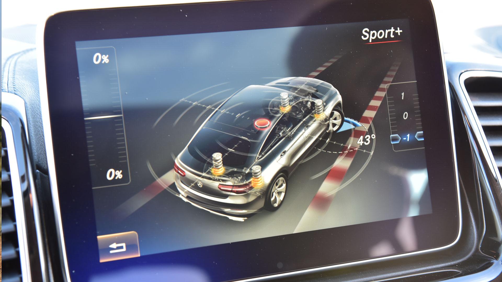 Mercedes Benz GLE 2016 450 AMG Coupe Interior