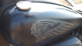 Indian Chief Dark Horse 2015 Exterior