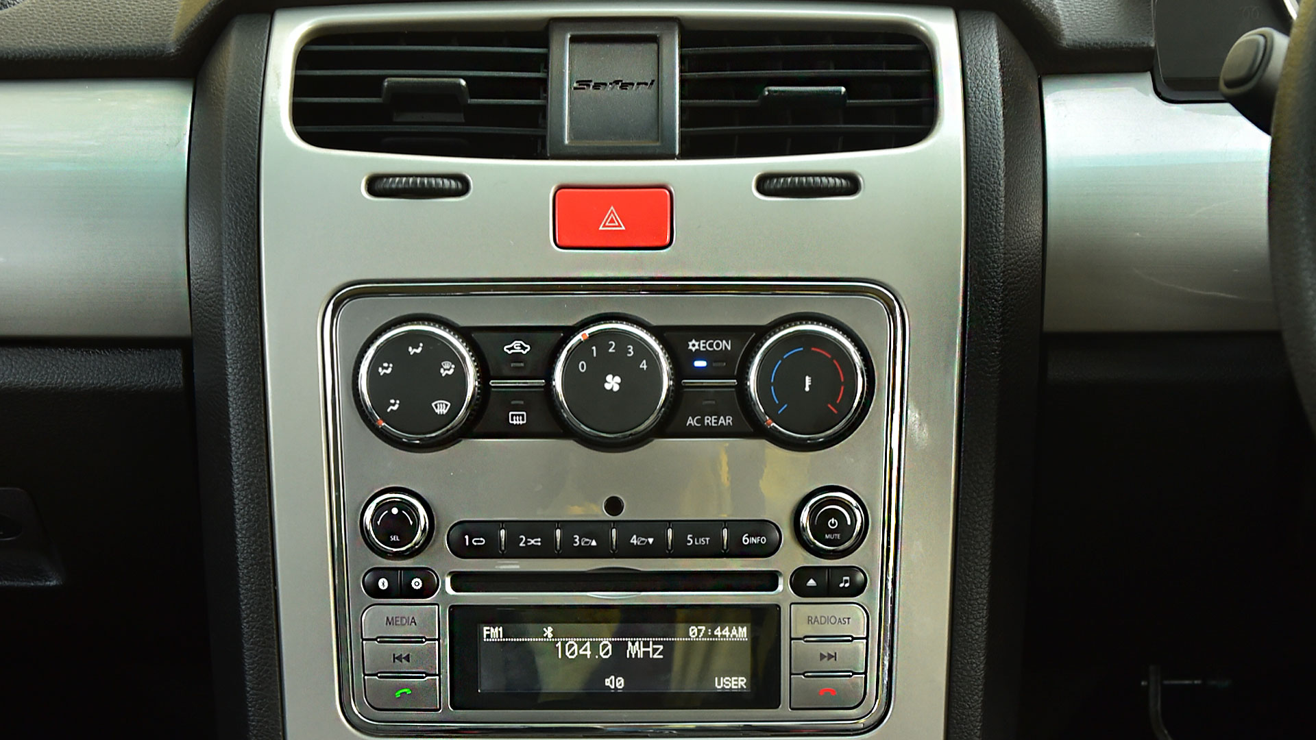 Tata Safari Storme 2016 VX BS4 4x4 Interior