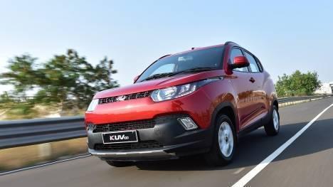 Mahindra KUV 100 2016 K8 Diesel 6 Str Exterior