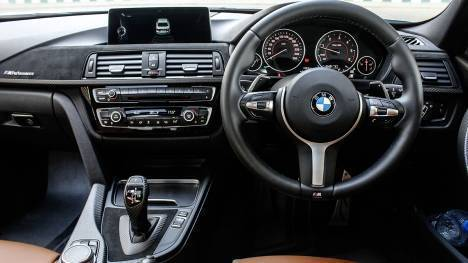 BMW 3 Series 2017 330i M Sport Interior