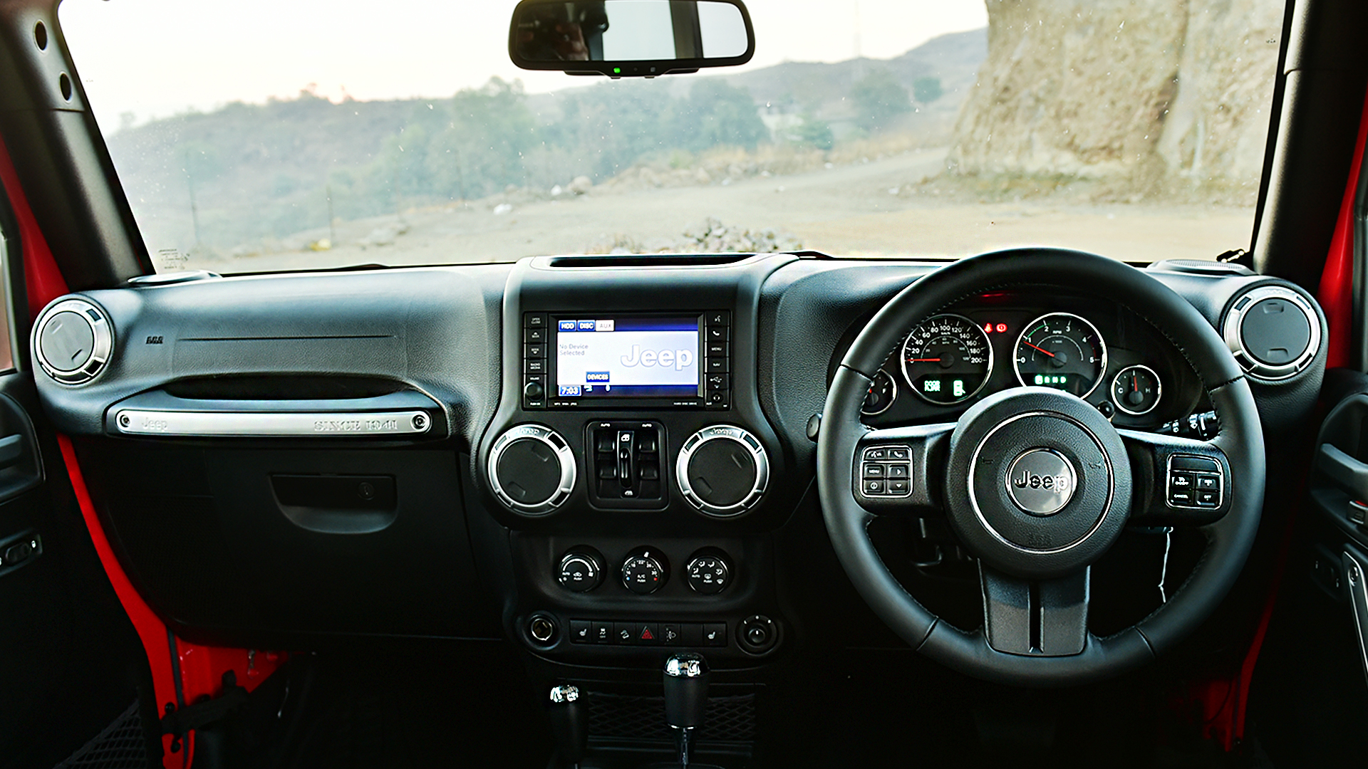 Jeep Wrangler 2016 Unlimited Interior Car Photos Overdrive