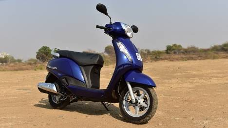 Suzuki Access 2016 Special edition Drum Exterior