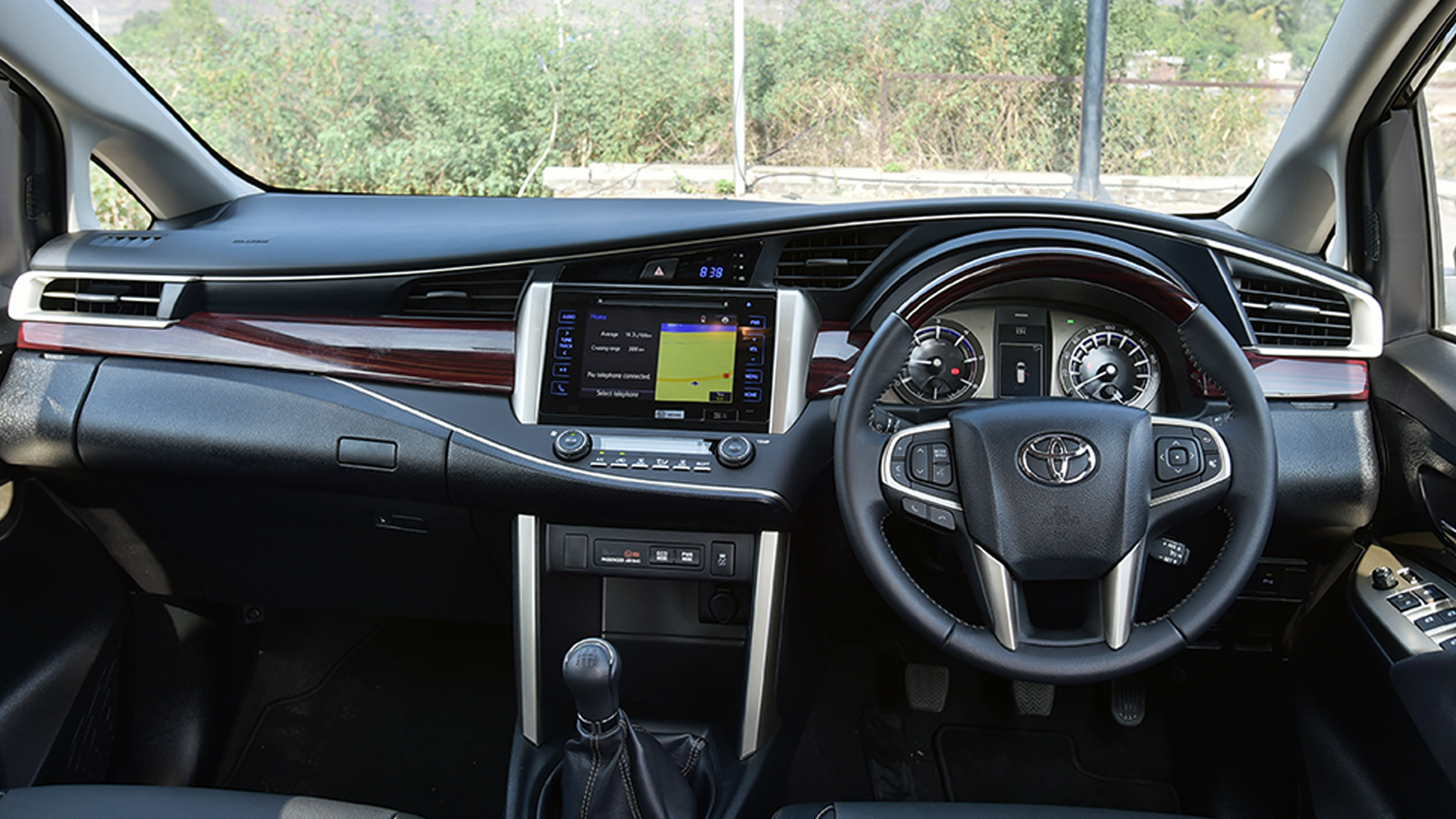 Toyota Innova Crysta 2016 STD Interior