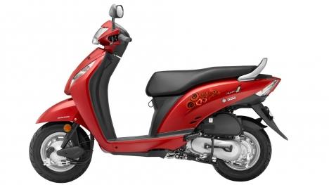 Honda Activa i 2016 DLX Exterior