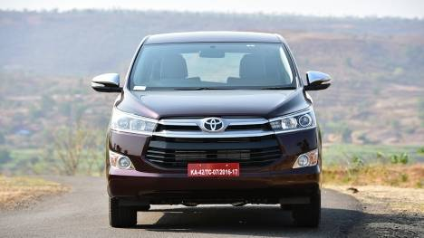 Toyota Innova Crysta 2017 Touring Sport- Diesel AT Comparo
