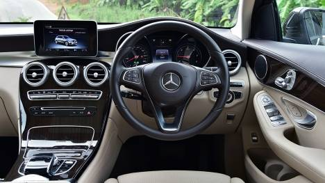 Mercedes-Benz GLC 2016 300 Edition 1 Interior