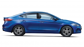 Hyundai Elantra 2016 1.6 Diesel S Exterior