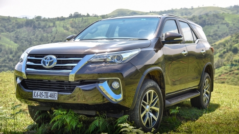 Toyota Fortuner 2016 4X4 AT Diesel