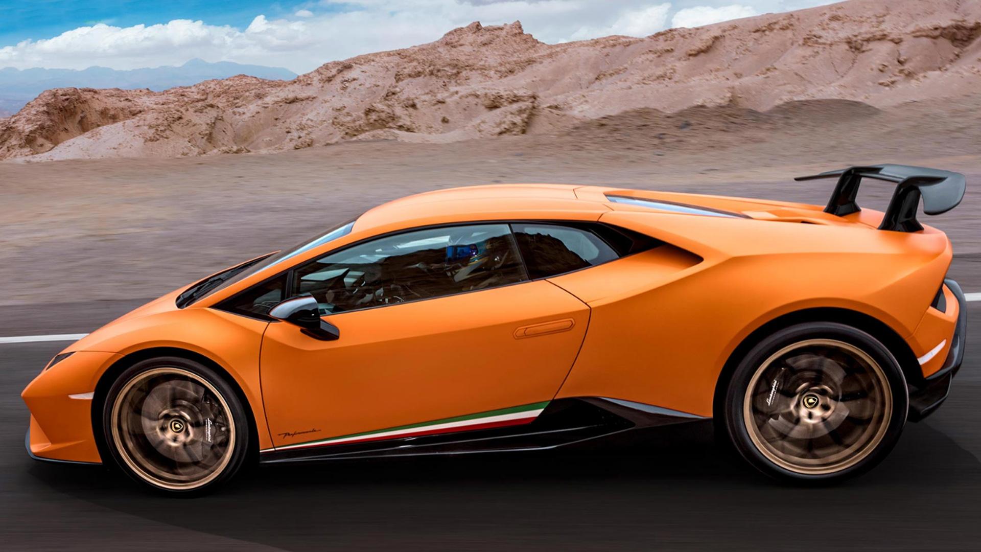 Lamborghini Huracan 2017 Performante Exterior