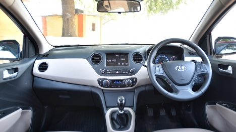 Hyundai Xcent 2017 SX Diesel Option Pack	 Interior