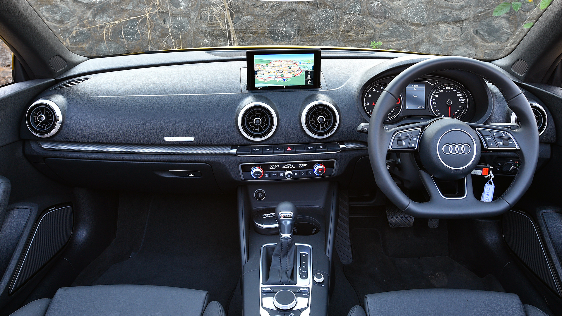 Audi A3 Cabriolet 2017 35 TFSI Interior Car Photos - Overdrive