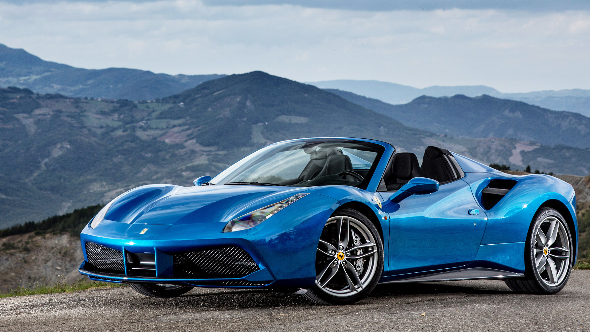 Ferrari 488 2017 Spider Exterior Car Photos Overdrive